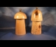 Mountain maple salt and pepper mills